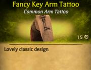 FancyKeyTattoo