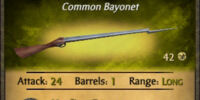 Crab Sticker Bayonet