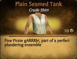 Plain Seamed Tank