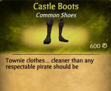 F Castle Boots