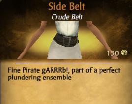 F Side Belt