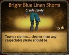 File:Bright blue linen shorts.jpg