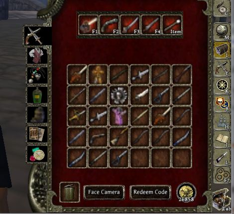 File:All of theluckman weapons.jpg