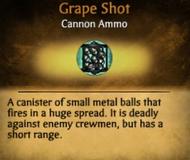 Grape Shot info card