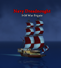 Navy Dreadnought clearer