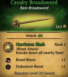 Cakvary Broadsword1