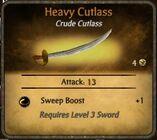 Heavy Cutlass
