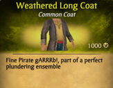 Weathered Long Coat