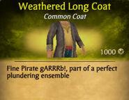 Weathered Long Coat