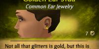 Golden Ear Stud