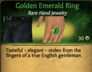 GoldenEmeraldRing