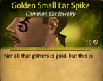 GoldenSmallEarSpike