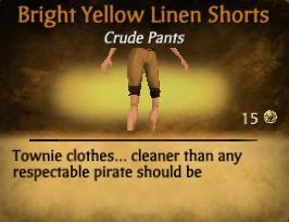 File:Bright Yellow Linen Shorts.jpg