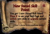 Scroll NewCutlassSkillPoint