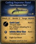 Gatling Repeater Pistol
