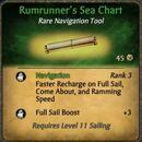 Rumrunner's Sea Chart