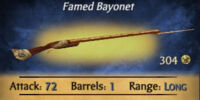 Swashbuckler's Bayonet