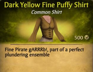 File:Dark Yellow Fine Puffy Shirt.jpg