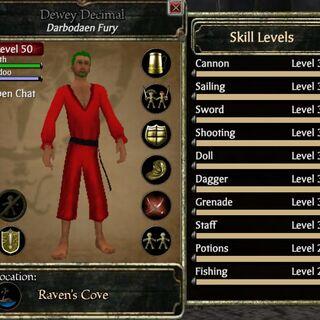 <b>Dewey Decimal, mastered at 46 due to Black Pearl Quest</b>