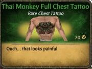 Thai Monkey Full Tattoo
