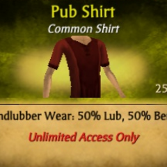 Red Pub Shirt