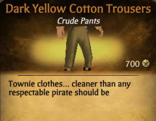 File:Dark Yellow Cotton Trousers.jpg