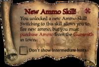 Scroll NewAmmoSkill