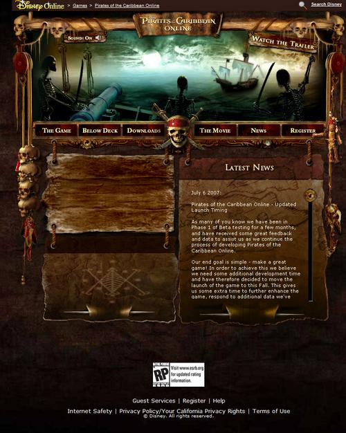 January 2007 Site