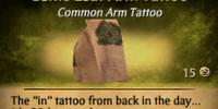 Celtic Leaf Arm Tattoo