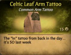File:Celtic Leaf Arm Tattoo.png