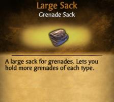 Large Sack