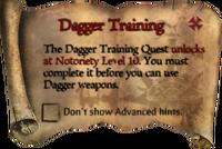 DaggerTrainingScroll