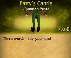 F Patty's Capris