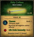 Holy Cutlass