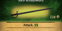 Baboon Broadsword