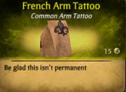 French Arm Tat