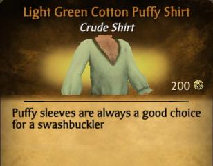 File:Light Green Cotton Puffy Shirt.jpg