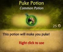 Puking Potion