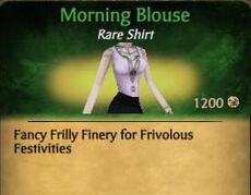 F Morning Blouse