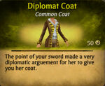 Diplomat coat
