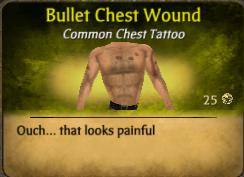 BulletChestWound