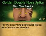GoldenDoubleNoseSpike