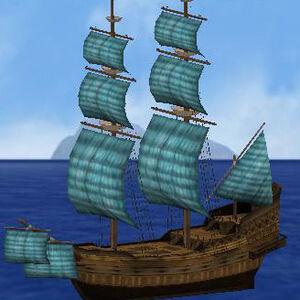 Sails cyan full sail