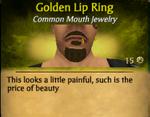 GoldenLipRing