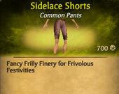 Sidelace Shorts