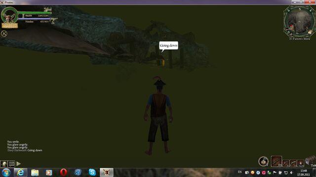 File:Going down in glitch cave.jpg