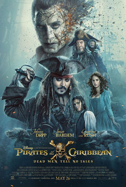 POTC Dead Men Tell No Tales Poster