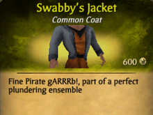 Swabby's Jacket - clearer