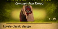 Pirate Skull Arm Tattoo