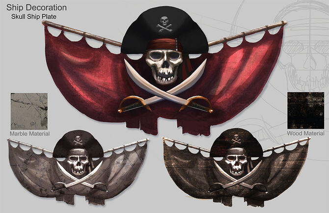 Illustrations potc skull large
